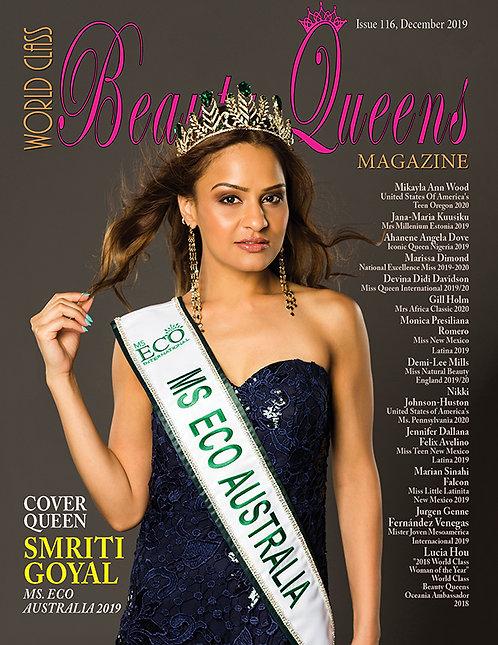 Issue 116 World Class Beauty Queens Magazine