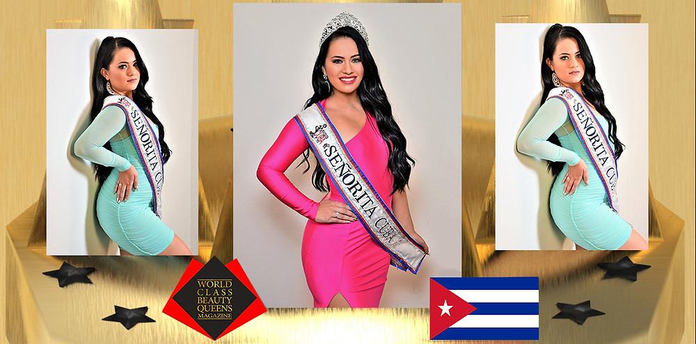 Jennifer Sanchez Señorita Cuba 2019, World Class Beauty Queens Magazine, Photo by George Anthony Wakefield