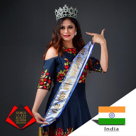 Neetu Singh Mrs. Universe Arab Asia 2019
