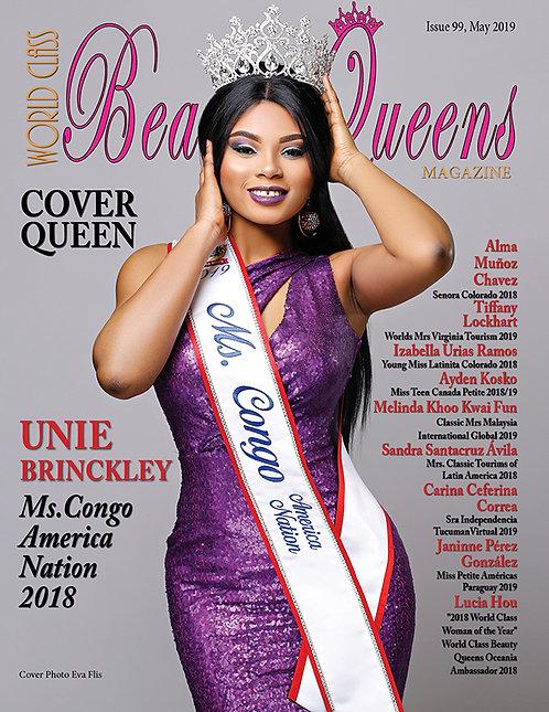 Issue 99 World Class Beauty Queens Magazine