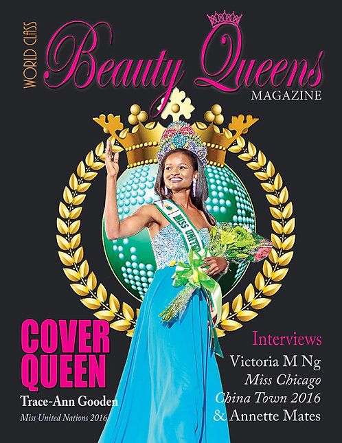 Issue 4 World Class Beauty Queens Magazine