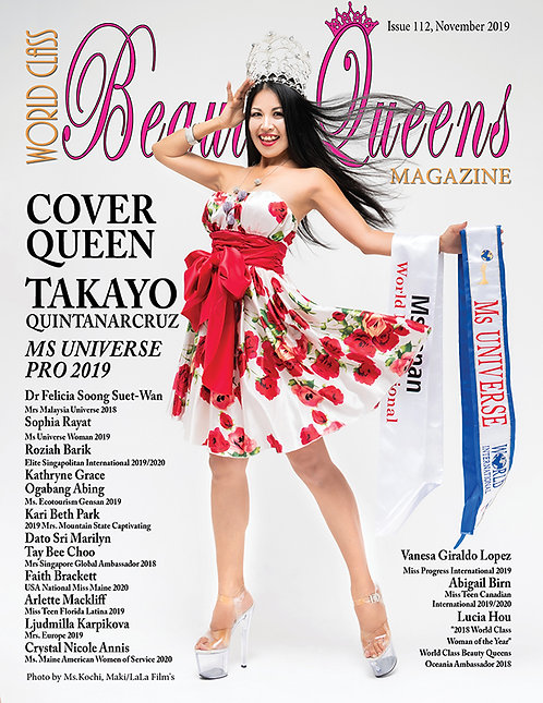 Issue 112 World Class Beauty Queens Magazine