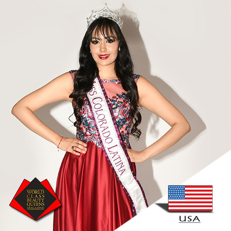 Vannesa Elizabeth Cruz Miss Colorado Latina 2019