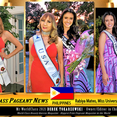 Corazon Ugalde Yellen Armenta at Rabiya Mateo Miss Universe Philippines 2020 Welcome Party.