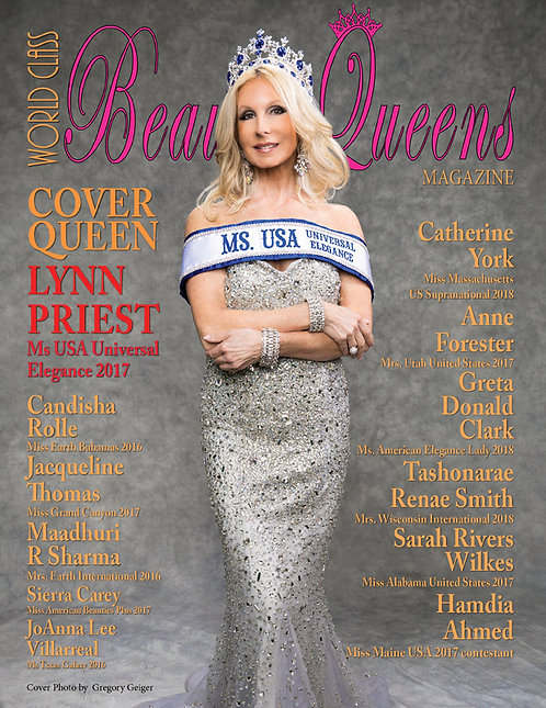 Issue 48 World Class Beauty Queens Magazine