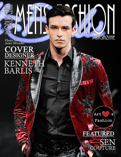 Issue 2 World Class Mens Fashion Magazine