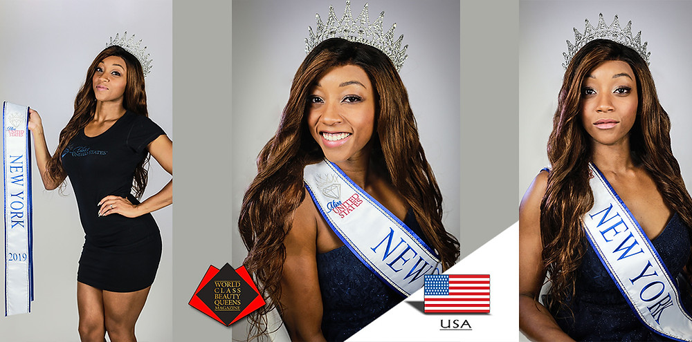 Shae Lambert Miss New York 2019, World Class Beauty Queens Magazine,