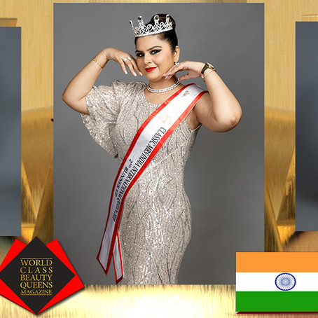 Amrit Kaur Classic Mrs India International Queen 2020 2nd Runner Up