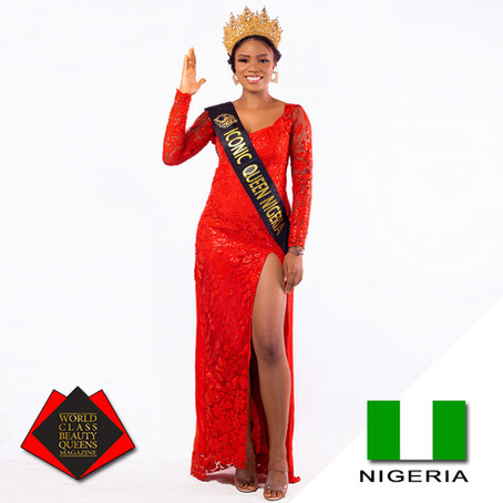 Nmesoma Joy Nwabuko Iconic Queen Nigeria 2020
