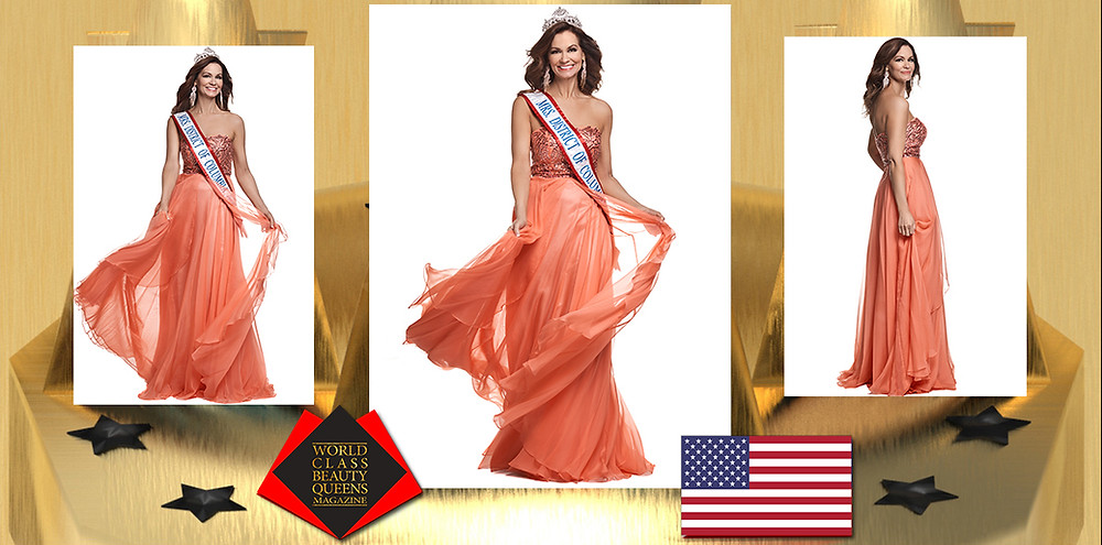 JeanAnne Roberts Mrs. DC America 2020, World Class Beauty Queens Magazine, Photo by Roy Cox Photography