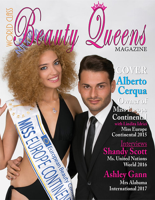Issue 20 World Class Beauty Queens Magazine