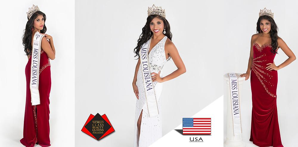 Erin Husbands 2019 Elite Miss Louisiana Earth USA, World Class Beauty Queens Magazine