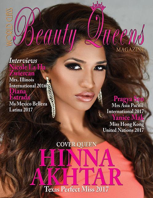 Issue 29 World Class Beauty Queens Magazine