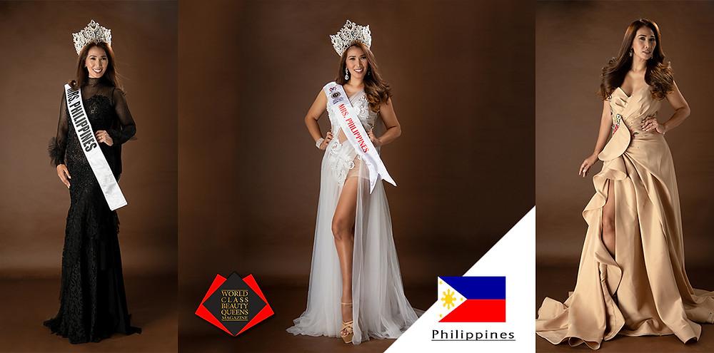 Emilia Vergara Encabo - Hann Mrs. Philippines Global International 2019, World Class Beauty Queens Magazine,