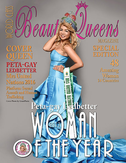 Issue 1 World Class Woman of the Year Magazine