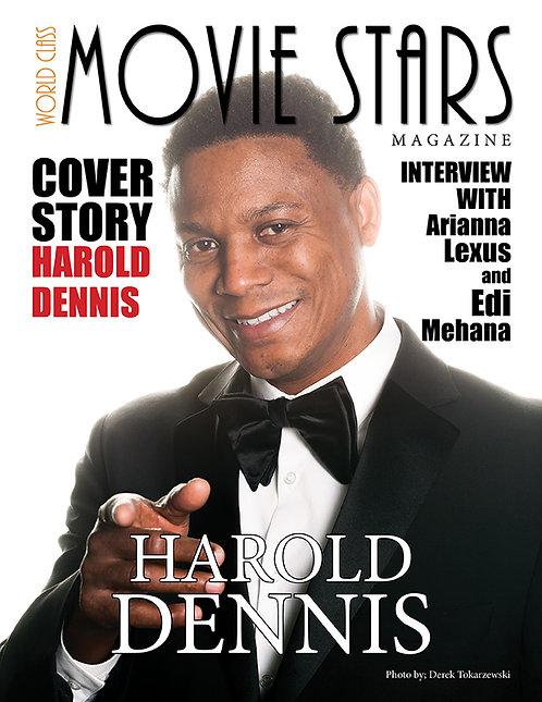 Issue 1 World Class Movie Stars Magazine