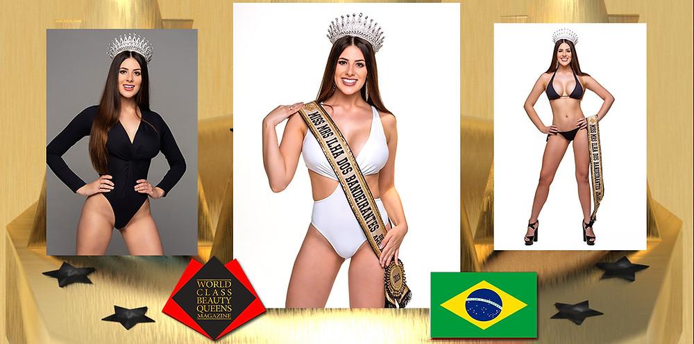 Caroline Fernanda dos Santos Mrs Brasil de Las Americas 2020, World Class Beauty Queens Magazine,