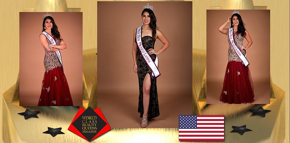 Monica Presiliana Romero Miss New Mexico Latina 2019, World Class Beauty Queens Magazine, Photo by Photo by Creative Works – Keith Green Photography