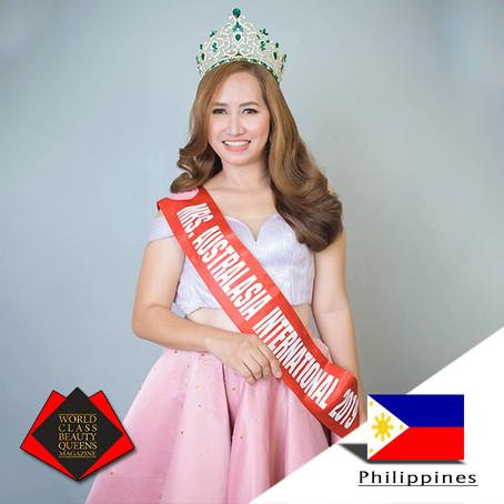 Maryjane Guerra Falcon- Marañag Mrs. Australasia International 2019