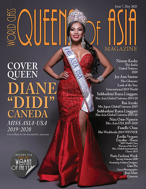 Issue 7 World Class Queens of Asia Magazine