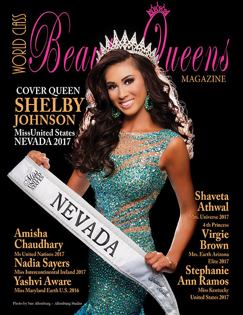 Issue 38 World Class Beauty Queens Magazine