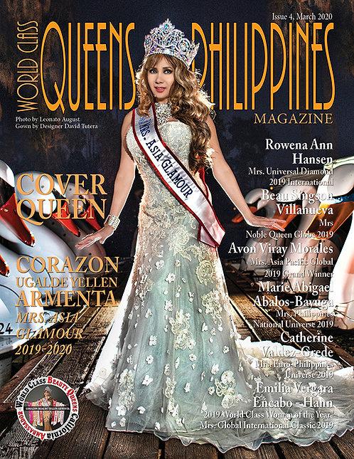 Issue 4 World Class Queens of Philippines Magazine