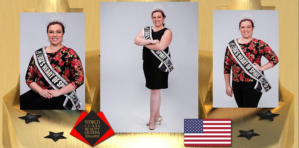 Victoria Wigginton USA's Heart of Spirit 2019, World Class Beauty Queens Magazine,