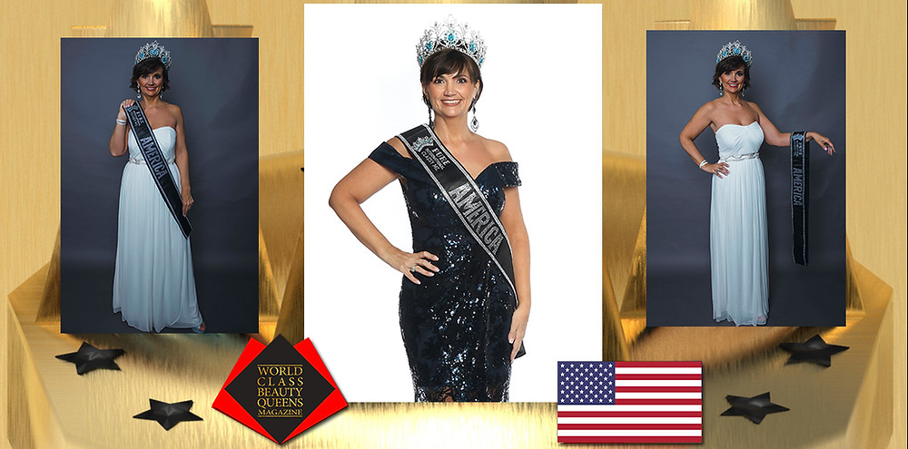Alesha Knight 2019 Pure International Classy Ms. America, World Class Beauty Queens Magazine,