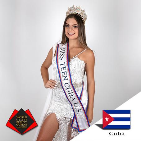 Veronica Delgado Miss Teen Cuba U.S 2019