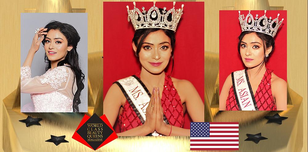 Kaanchan S Farkiya Ms. Asian North America 2017