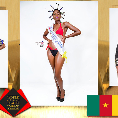Mbena ziakou Perpetuates Isabelle Miss Style Intercontinental Cameroon Africa Beauty 2020