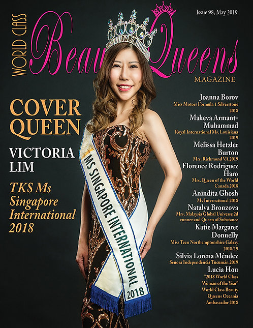 Issue 98 World Class Beauty Queens Magazine