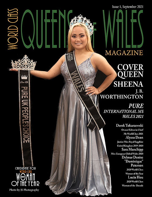 Issue 1, World Class Queens of Wales Magazine