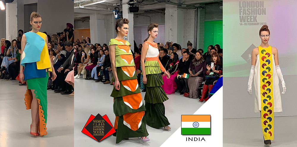INIFD LST, London Fashion Week Autumn/Winter 2020, World Class London Fashion Week Magazine, Photos by Sergio Mattioli