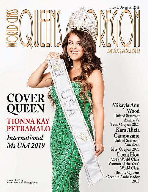 Issue 1 World Class Queens of Oregon Magazine