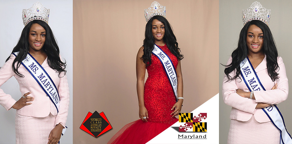World Class American Royalty Magazine, Danielle B. Hardy, Royal International Ms. Maryland 2019