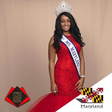 Danielle B. Hardy Royal International Ms. Maryland 2019