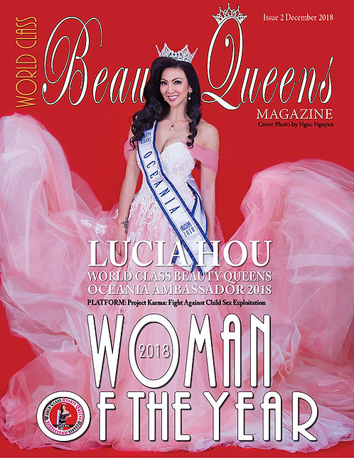 Issue 2 World Class Woman of the Year Magazine