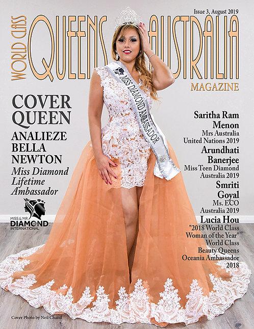 Issue 3 World Class Queens of Australia Magazine