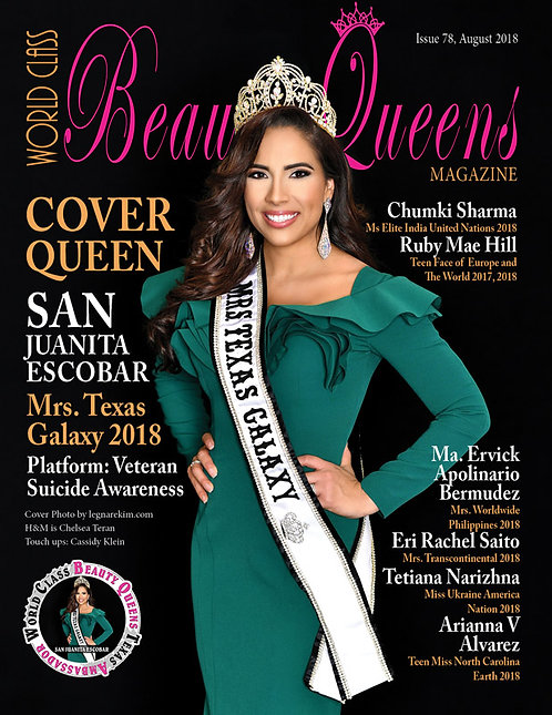 Issue 78 World Class Beauty Queens Magazine