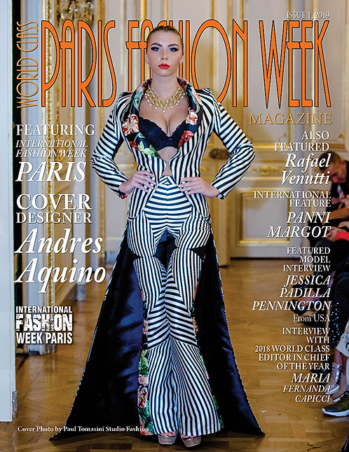 Issue 1 World Class Paris Fashion Week Magazine
