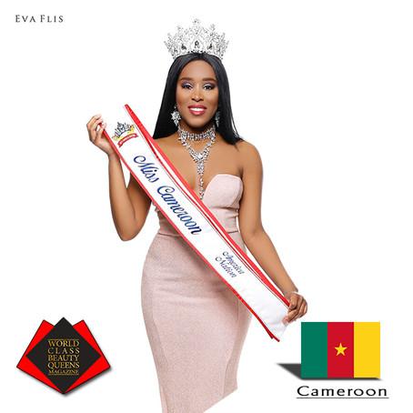 Oriane Medjom Toguem Miss Cameroon America Nation