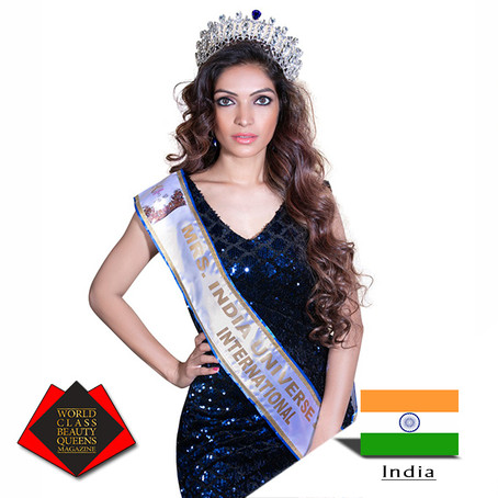 Tina Mali Mrs India Universe International 2018