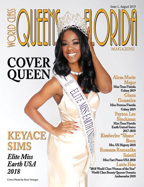 Issue 1 World Class Queens of Florida Magazine
