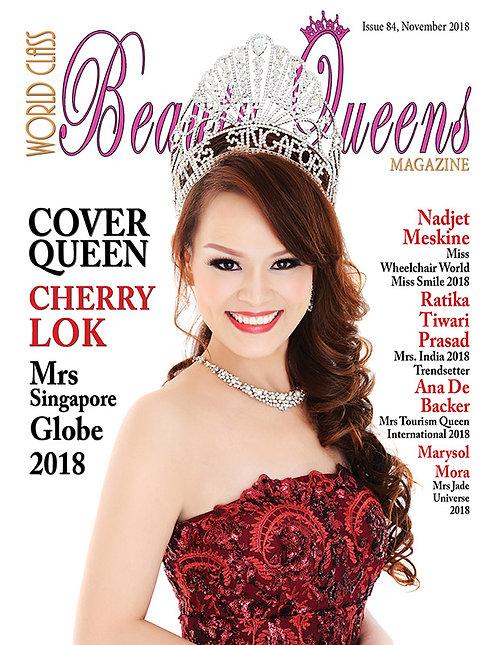 Issue 84 World Class Beauty Queens Magazine