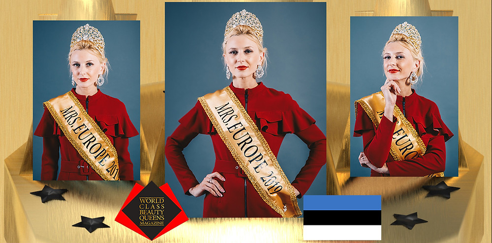 Ljudmilla Karpikova Mrs. Europe 2019, World Class Beauty Queens Magazine