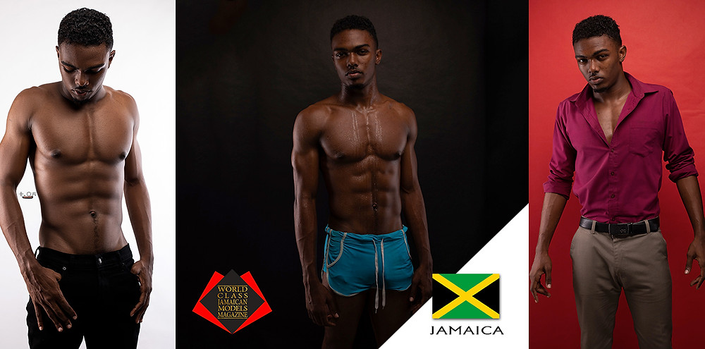 Tamichael Watson, World Class Jamaica Models Magazine, Photo by Orville Spence