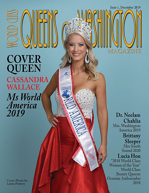 Issue 1 World Class Queens of Washington Magazine
