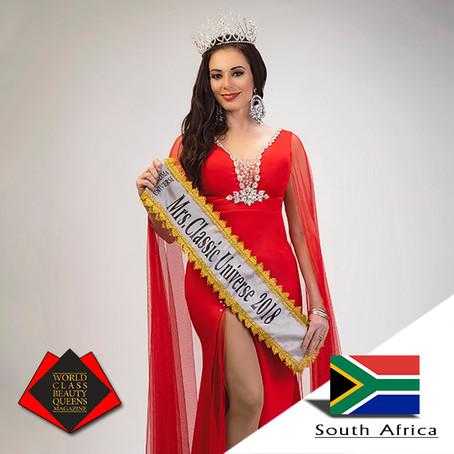 Rosa Van Niekerk Mrs Classic Universe 2018