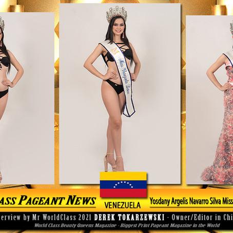Yosdany Argelis Navarro Silva Miss Venezuela Latina 2021